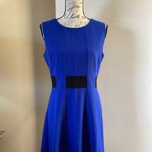 Color blocked Career dress